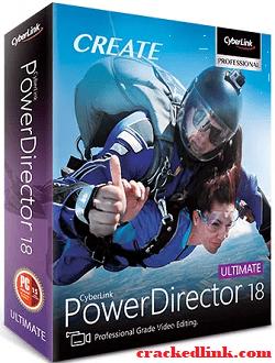 CyberLink PowerDirector 18 Crack Plus Keygen 2020 {Updated}