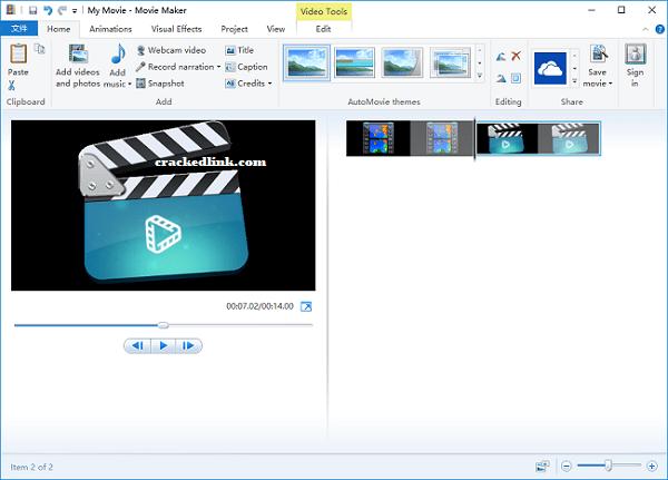 Windows Movie Maker 2021 Crack With Registration Code Free