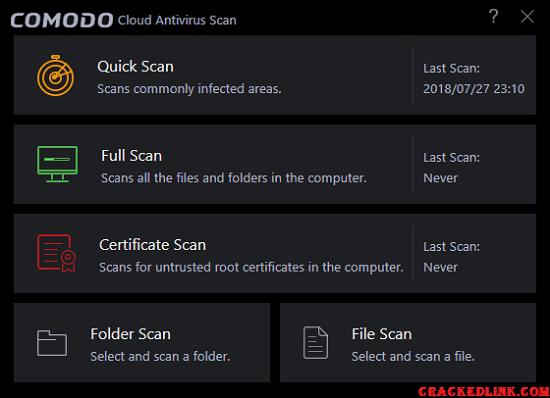 Comodo Antivirus 2020 Crack Plus License Key {Updated} Free