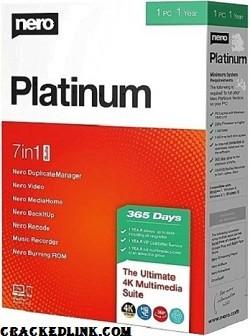 Nero Platinum 2020 Crack + Serial Number {Updated} Free Download