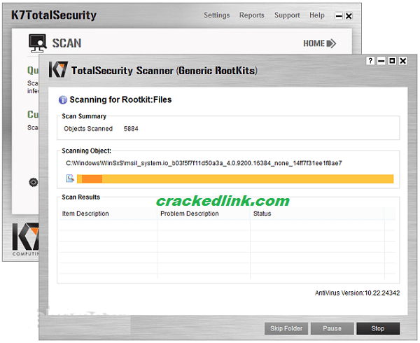 K7 TotalSecurity 2020 Crack With Activation Key Latest Free