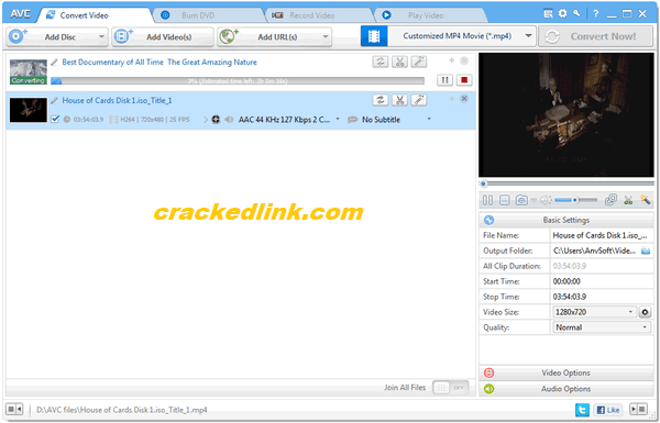 Any Video Converter Ultimate 7.0.5 Crack With Serial Key Free Download