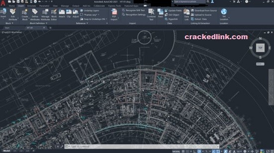 AutoCAD 2021 Crack With Product Key Latest Free Download