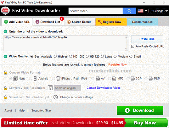Fast Video Downloader 3.1.0.60 Crack Plus Registration Key 2020 Free